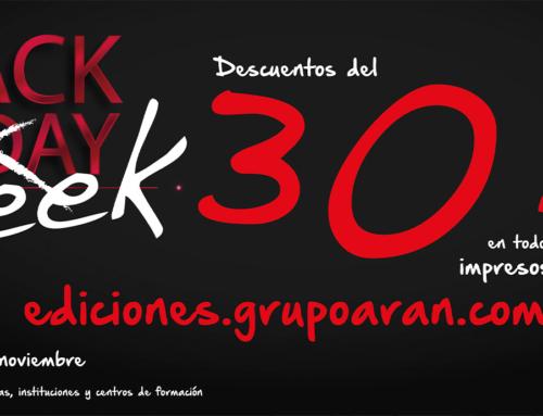 Compra tus libros y manuales aprovechando nuestras ofertas en el Black Friday